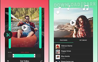 No crop video editor instagram Android App free download in Apk