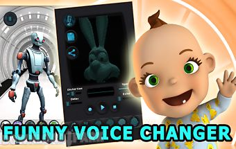 Voice changer fun: talking pro