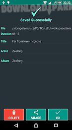 zeoring- ringtone editor