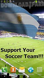 3d argentina flag lwp