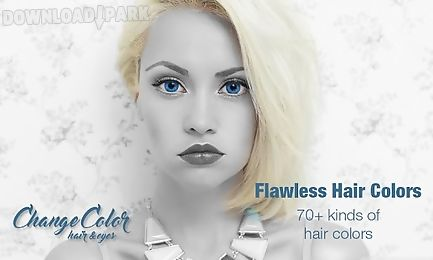 change eye color & hair color