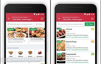 Food ordering & delivery app