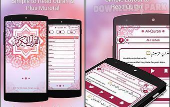 Al quran and translation