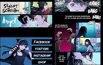 Anna blue - comic reader