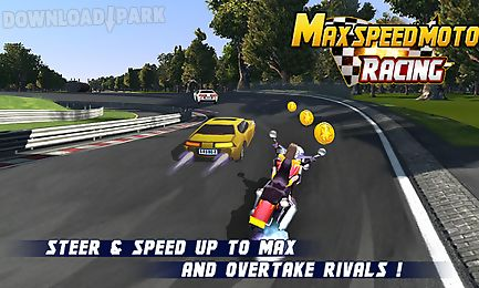 max. speed moto racing