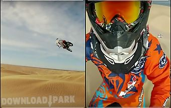 Motocross hd video wallpaper