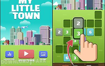 My little town : number puzzle