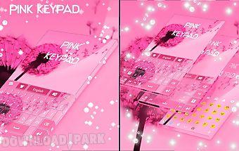 Pink keypad for galaxy s3 mini