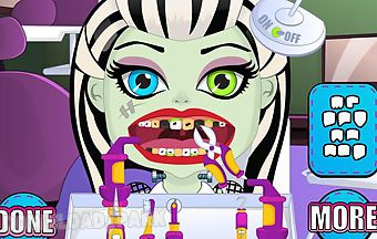 Baby monster dentist games