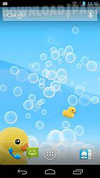 blowing bubbles live wallpaper