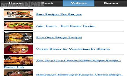 burgers recipes