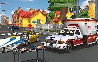 Kids ambulance driver