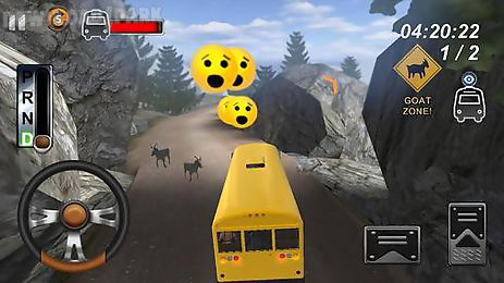 school bus driver: hill climb