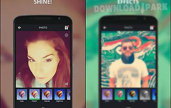 Selfie camera app
