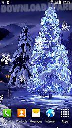 snowfall by blackbird wallpapers
