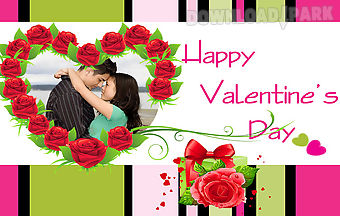 Valentines romance photo frame
