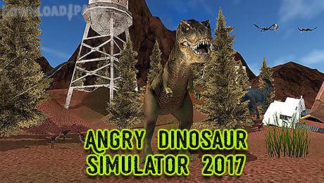 angry dinosaur simulator 2017