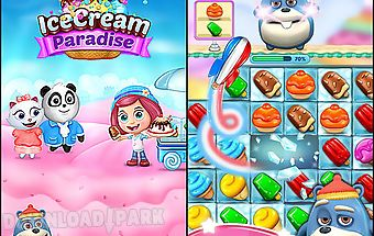 Ice cream paradise: match 3