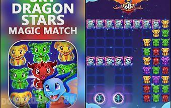Sky dragon stars: magic match
