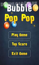 bubble pop pop