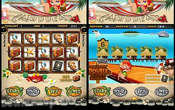 Caribbean slot machines
