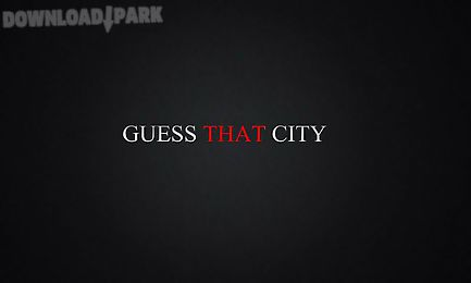 guess that city