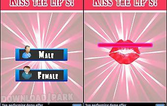Kissing test-love tester