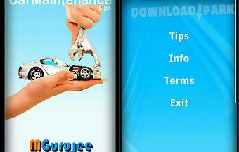 Maintenance your car