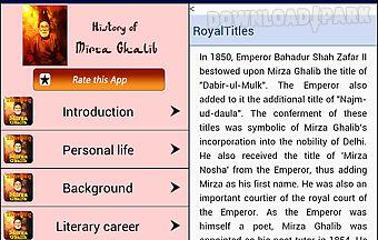 Mirza ghalib history urdu poet