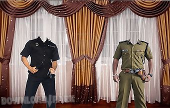 Police photo suit