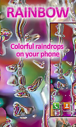 rainbow drops live wallpaper free