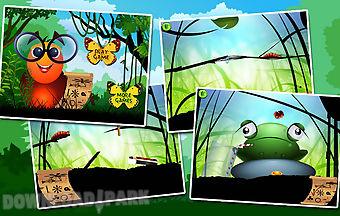 Larva venture-worm legend game