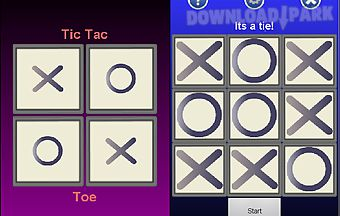 Tictactoe touch