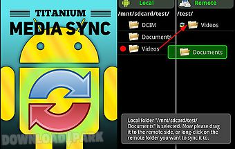 Titanium: media sync