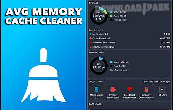 Avg memory cache cleaner