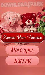 love proposal 4 valentine day - Valentine Apps