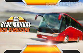 Real manual bus simulator 3d