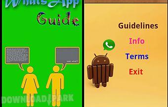 Whatsapp guidance