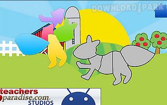 Animals! shape puzzles
