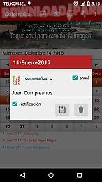 colombia calendario 2017