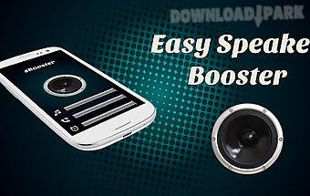 Easy speaker booster
