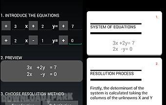Maths equations