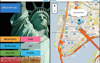 New york nyc offline map guide