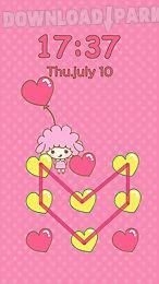 pink love diy locker theme