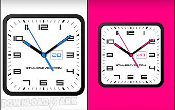Square clock android-7