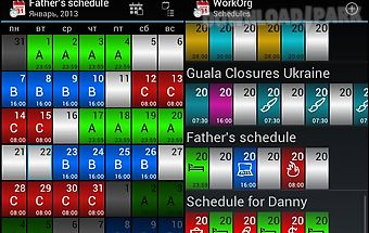 Workorg (shift planner)