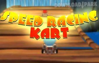 Speed racing: kart