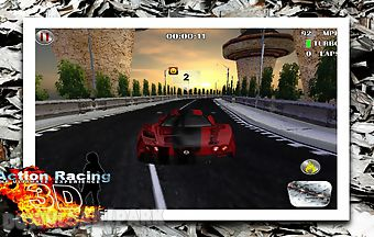 Action racing 3d multiplayer car..