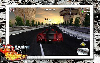 Action racing 3d multiplayer car..