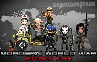 Mordern world war: attack fire